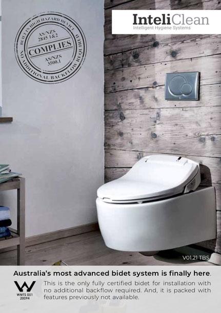 Bidet, bidet seat, Japanese toilet, Shataf, bidet handspray, hygiene, hygienic, douche spray, douche, InteliClean, Intelicorp, The Bidet Shop