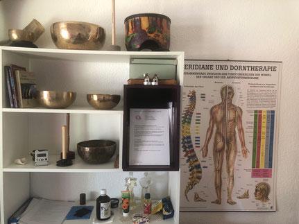 Massage-Praxisraum von Katharina Stieger in Niederweningen