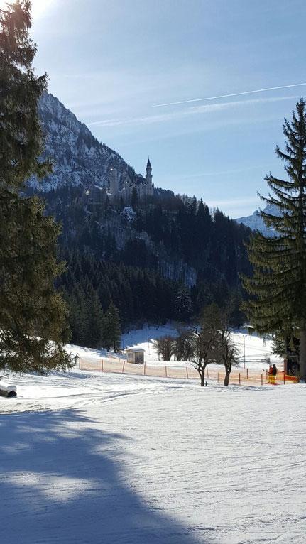 Neuschwanstein bei Tag