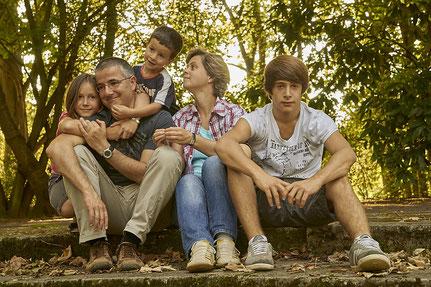 Kind Familie Eltern Kinder