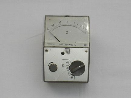 Metrawatt  Widerstands Messgerät Typ. Metrawid  L