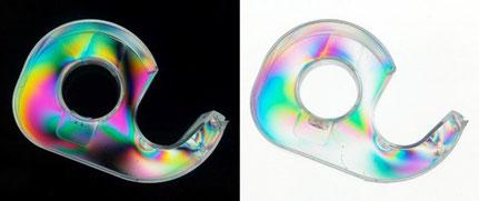 Filtres polarisants, couleurs de polarisation