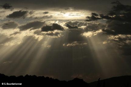 rayon diffusion nuages