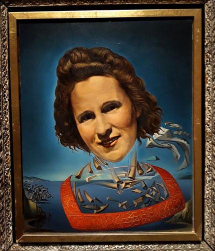 Портрет Галы с признаками оносороживания (1954)