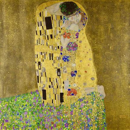 Поцелуй - самые известные картины в мире