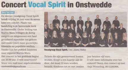Vocal Spirit Stadskanaal VocalSpirit
