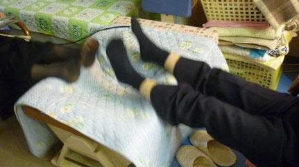 二人で上下運動 千葉県鎌ケ谷市の整体院 自然医学療法センター橋本です。