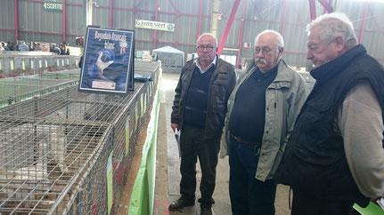 Berty Briaud, Christian Fagot, Gérard Bailliet