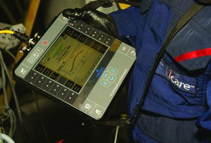Messgerät zur Schwingungsdiagnose Emerson CSI 2140