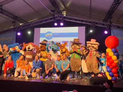 2020 01 19 Slagharen wint prijzen op vakantiebeurs in Utrecht. Bron: Attractie- en Vakantiepark Slagharen.