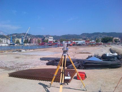Assistenza topografica ampliamento Molo Garibaldi in La Spezia