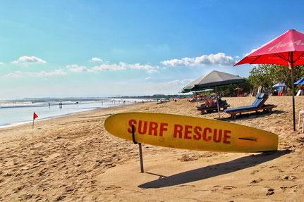Pantai Kuta - Surfstrand auf Bali