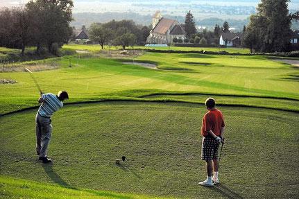 Golfplatz direkt bei der Ferienwohnung
