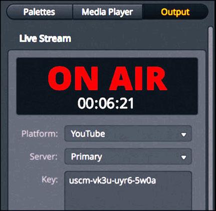 transmisión por internet, ATEm Mini Pro, mezcladora de video