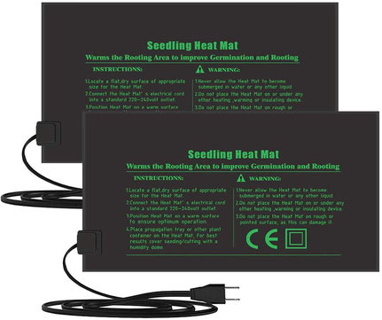 Hilfsmittel zum Vermehren von Zimmerpflanzen - Heizmatten zur Anzucht