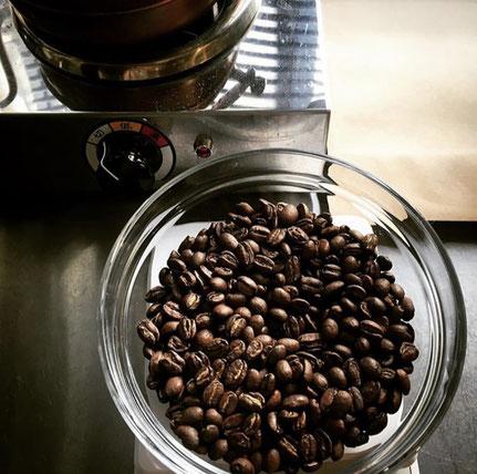 エチオピア産の広洋舎ブレンドコーヒー