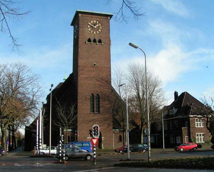 Sacramentskerk Ringbaan Oost Tilburg architect Marius van Beek