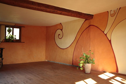 Lebensraumgestaltung-Wandmalerei-Innenraum