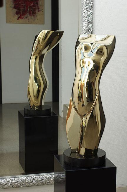 Skulpturen kaufen - abstrakte moderne oder Shona Art Skulpturen  NEUERRAUM