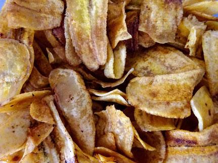 Keripik pisang dari Tjap Lombok