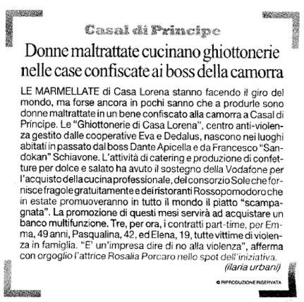Da la Repubblica Napoli del 29/05/13