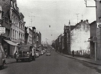 1960 - Lonkescherstrooss a Richtung Gare