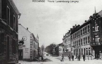1905 - Longkicherstrasse -ab weissem Haus (Café Nau)