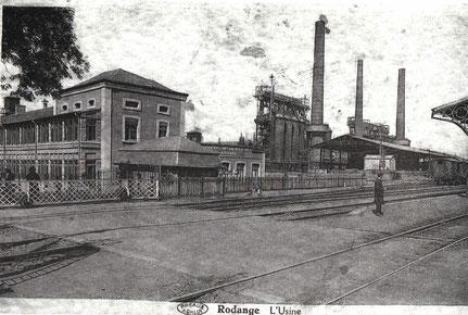 1935 - Barrière Richtung Athem - Gare & Schmelz