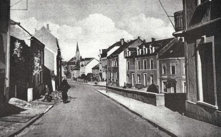 1935 - Lasauvagerstrooss - Minièrestrooss a Niederreideng - Mauserop