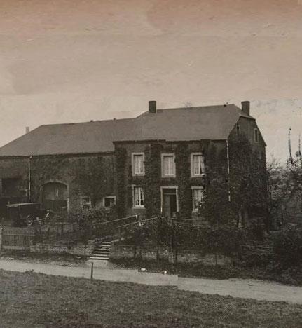 Haus wo speider Gärtnerei Henri Leger war.