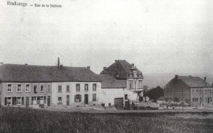 1910 - rue de la Station - oder den Blobierg - hautAvenue Dr. Gaasch
