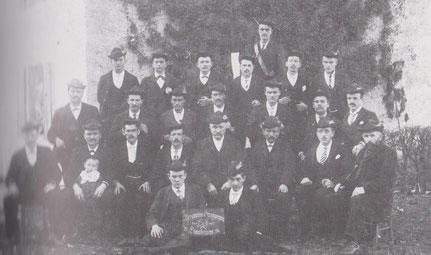 1906 - Der Bergmannsgesangverein