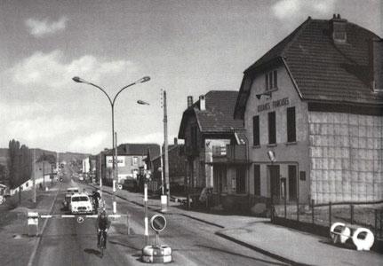1970 - Grenziwergang Lëtzebuerg - Frankreich