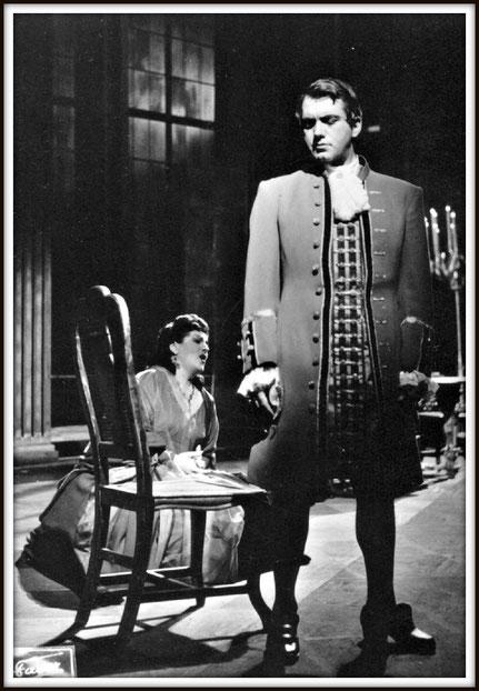 Renato - UN BALLO IN MASCHERA - con Birgit Nilsson - Vienna Staatsoper settembre 1958