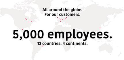 Weltweit agierendes Unternehmen