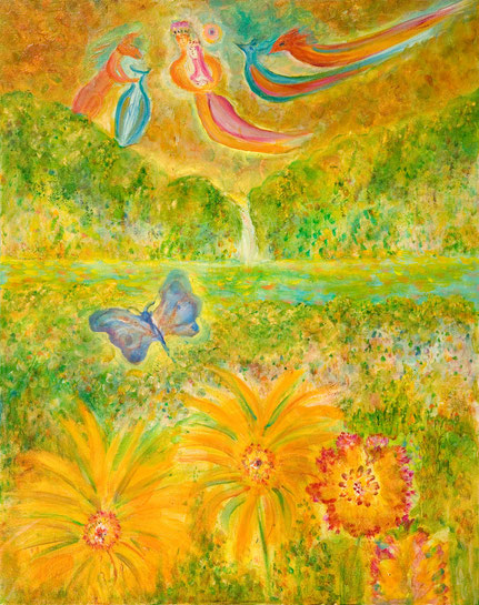 """Birthday of the Butterfly"" by Carolyn Mary Kleefeld, California, USA"