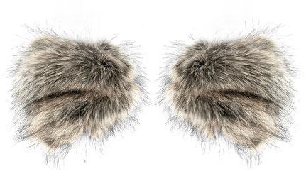 collo finta fake metti Pelliccia fasciatoio faux pelliccia sintetica pelliccia collar per Webpelz Wrap