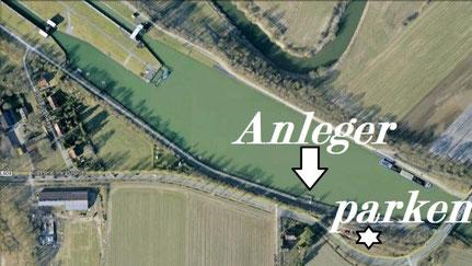 Liegeplatz unseres Ausbildungsschiffes Quelle: Google Earth™-Kartenservice