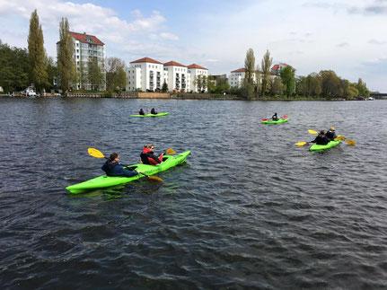 Kajakverleih / Berlin