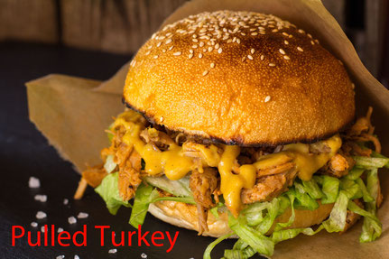 Pulled Turkey Burger