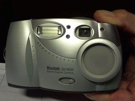 KODAK DX 3600     Meine erste Digitalkamera