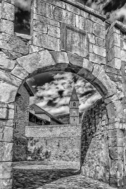La porte Sud (Colmars 04)