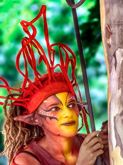 Mateo Brigande, La galerie de Mateo, portrait, portraits, profil,visage, figure, maquillage, couleurs,  frimousse, face, burlesque,