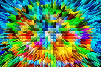 La galerie de Mateo, Art graphique, Art numérique, tantrisme, abstraction, graphisme, Mateo Brigande, matière, texture,
