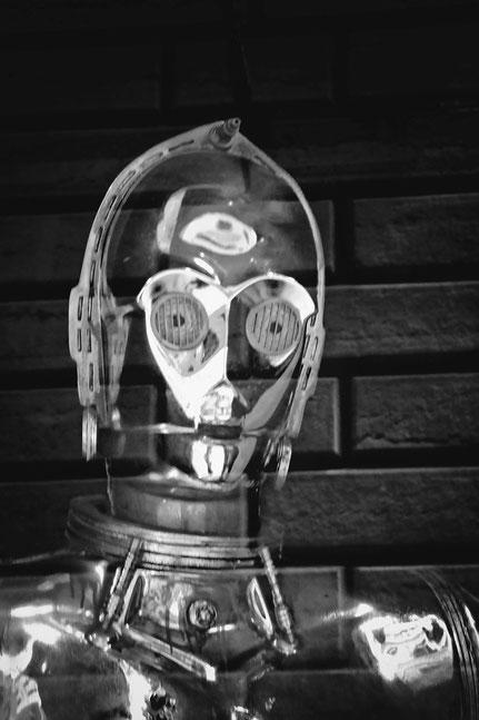 Mateo Brigande, La galerie de Mateo, bronze, buste, cariatide, marbre, statuette, boiserie, moulure, ornement, figurine, star wars, robot,