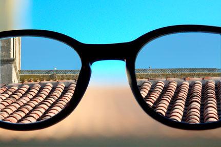 Mateo Brigande, La galerie de Mateo, détails, proxy, lunette, lumières, astigmate, myope, flou,