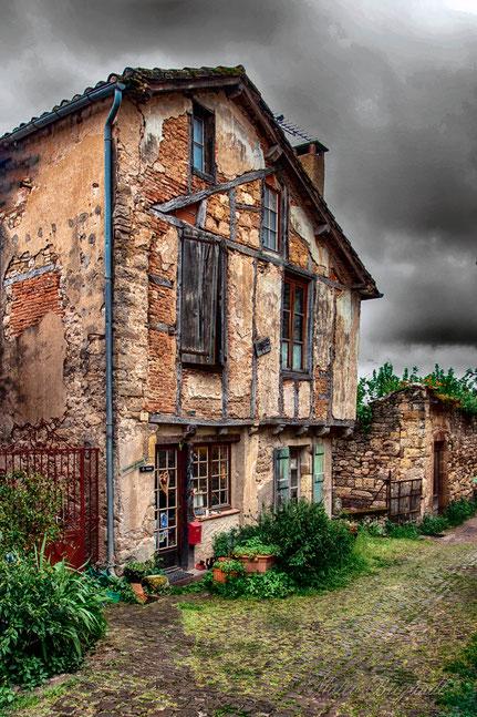 Mateo Brigande,La galerie de Mateo, Architecture, urbanisme, maison, bâtiment, immeuble, ancien, délabré, Cordes sur Ciel, Tarn