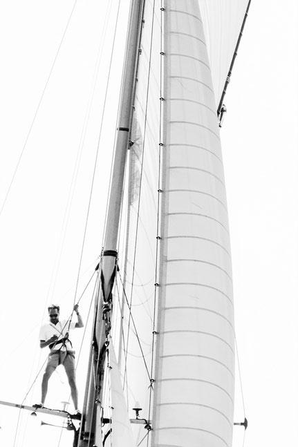 Mateo Brigande, La galerie de Mateo , voiles de Saint-Tropez, voiles, voiliers, vieux gréements, maxi, équipages, régate, agrès, brigantine, cacatois, clinfoc, foc, gréement, hunier, manoeuvre, misaine, toile, trinquette, voilure, bateau, spinnaker
