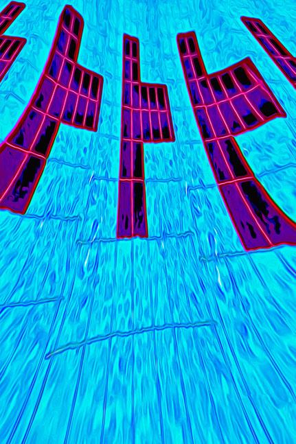 La galerie de Mateo, Art graphique, Art numérique, Mateo Brigande, matière, texture, abstraction, concept, conception, entité, idée, irréalité, tantrisme, abstraction, graphisme, perspective, transparence, piscine, eau