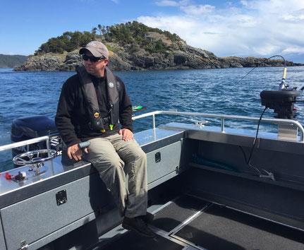 Warrior Fishing Charters, Guide, Mike Pashniak